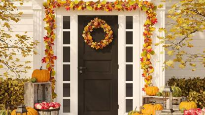 Decoration tips for the front door