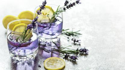 Lavender Lemonade Homemade