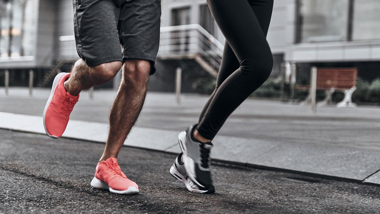 Sports shoes in test - Expensive or inexpensive - a couple runs with sports shoes