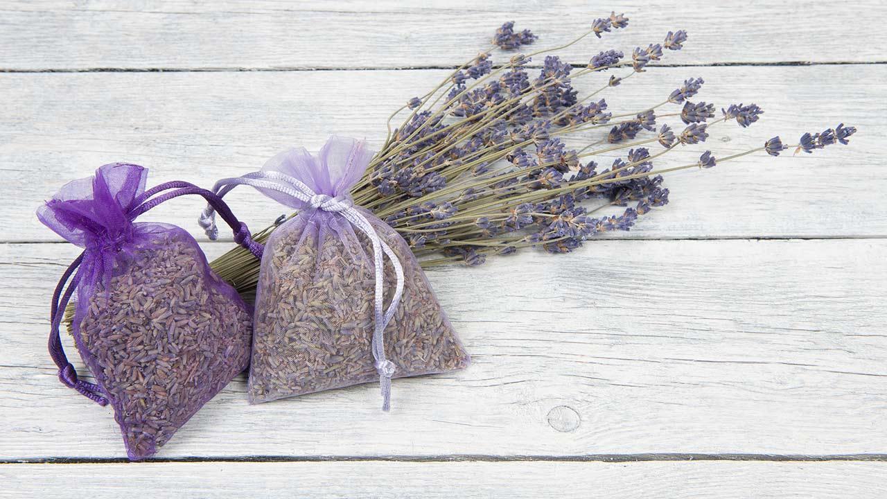 Room scent homemade - Lavender bag