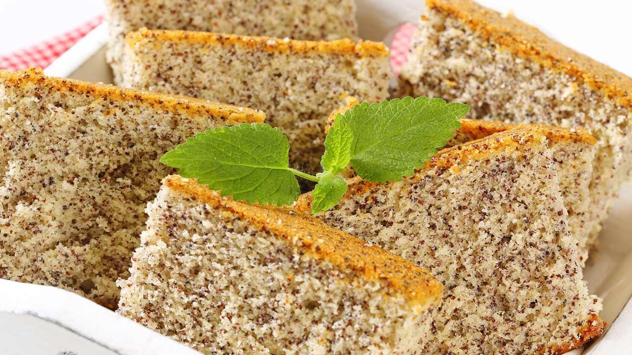 Delicious poppy cake recipes / homemade poppy cake