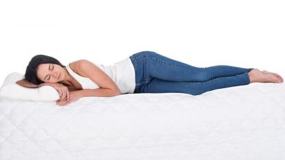 Tips against back pain - a good mattress
