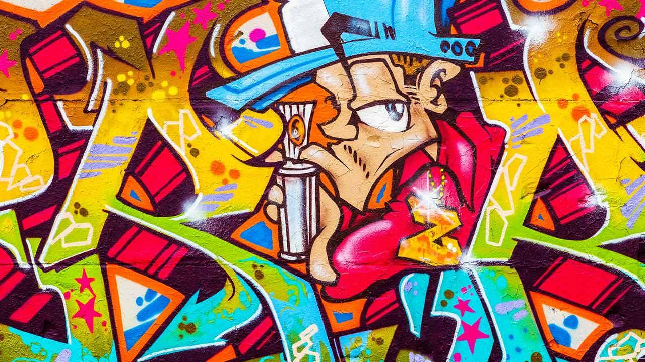 Graffiti - introduction to hobby painting / a graffiti