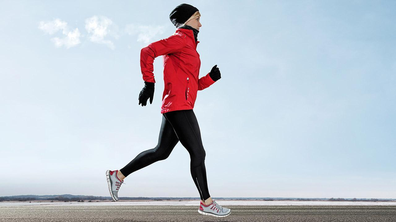 Choose the right running clothes - in winter