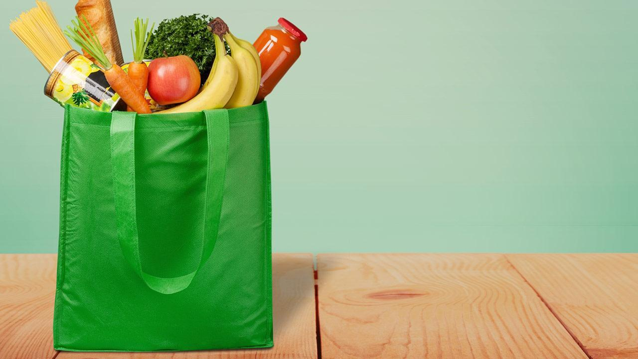 Avoid packaging when shopping - use your own containers / a reusable carrier bag