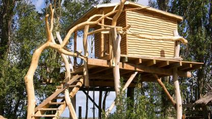 Tree house - From a child's dream to a bedroom in the trees - Luxury model