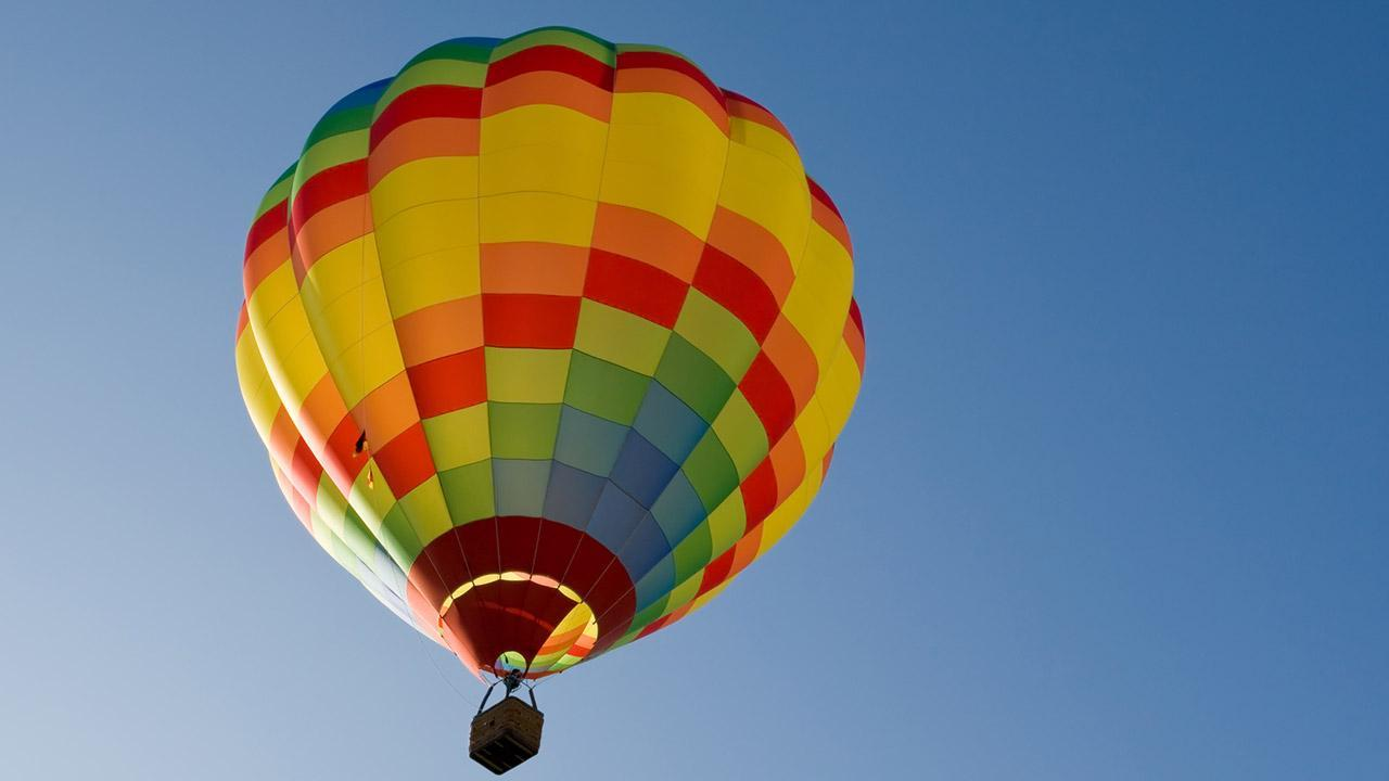 Ballooning - A view over Germany