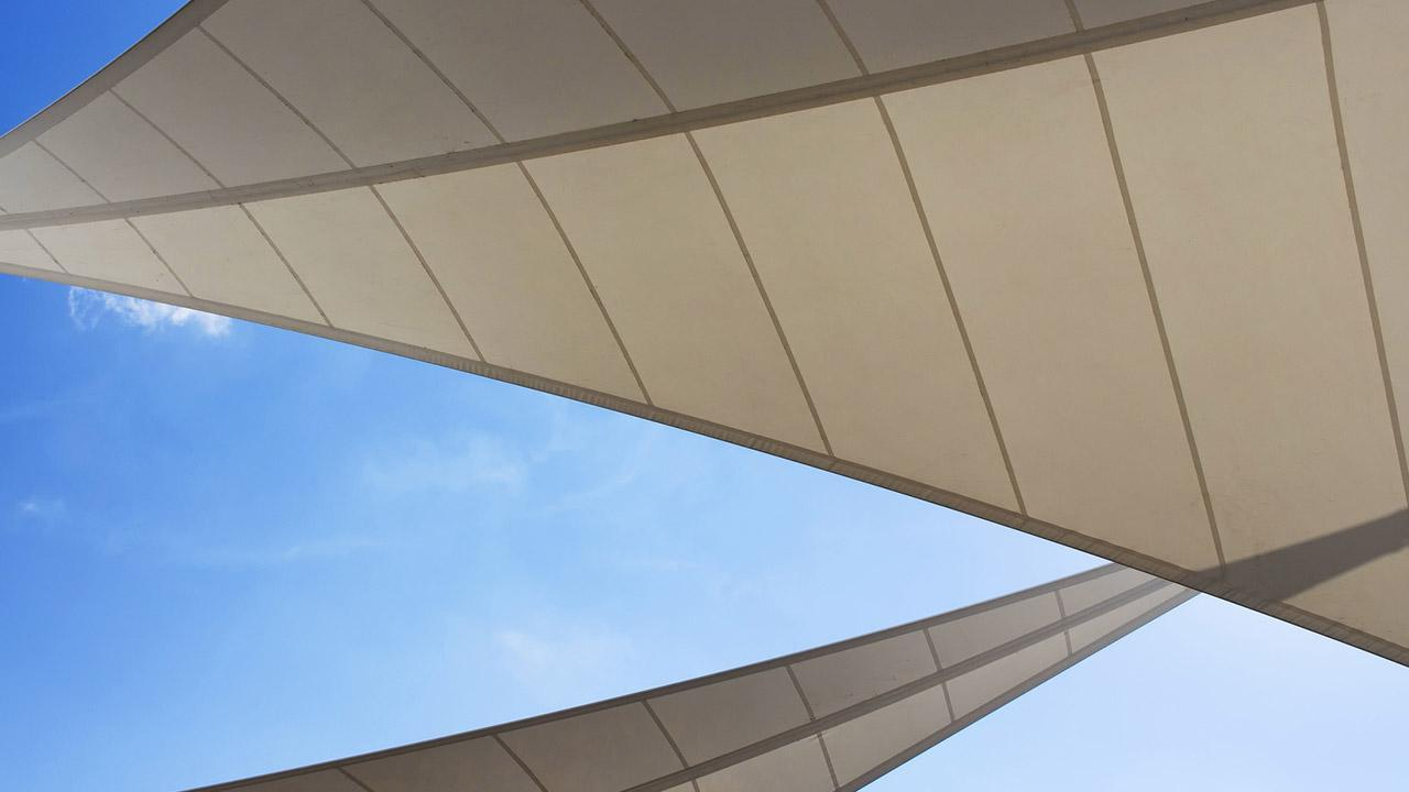 Choosing the right awning - awning sail