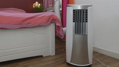Stationary air conditioners - how to use them correctly - in the bedroom