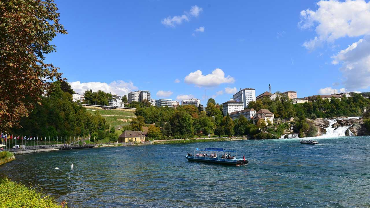 Canoeing on the Rhine - Schaffhausen to the Rhine Falls