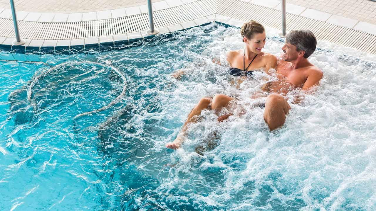The most beautiful adventure pools in Germany - in the whirlpool