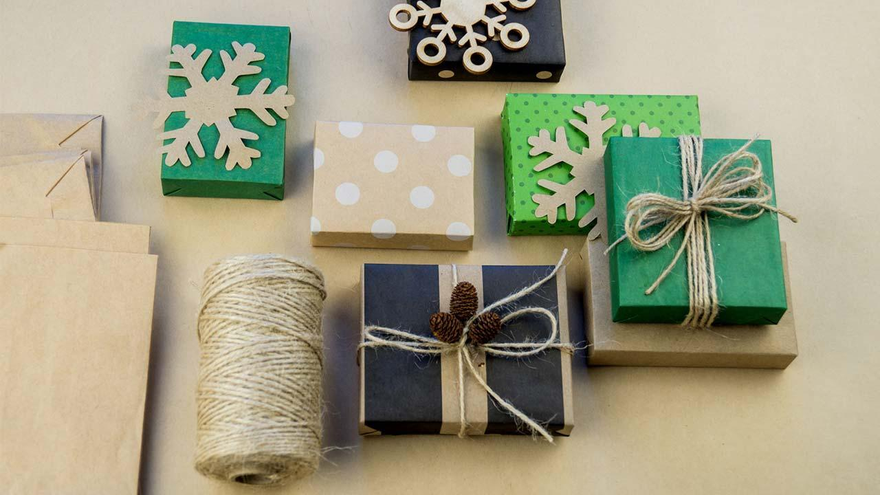 Making creative gift packaging yourself - Special packaging