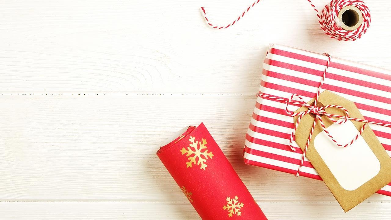 Make creative gift wrappings yourself - with pictures