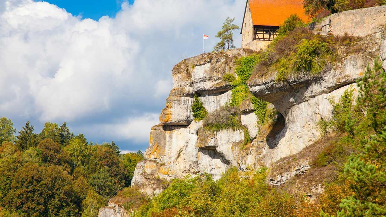 Climbing in Franconian Switzerland - Pottenstein in Upper Franconia