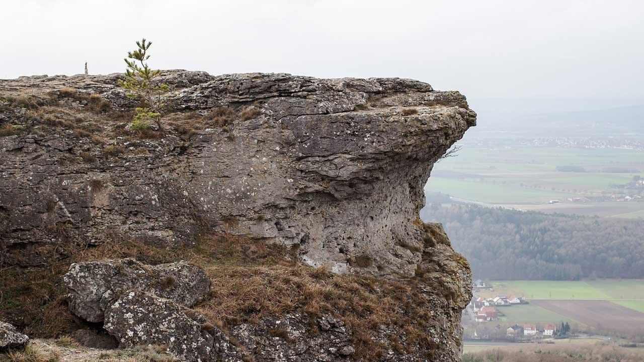 Climbing in the franconian Switzerland - Staffelberg