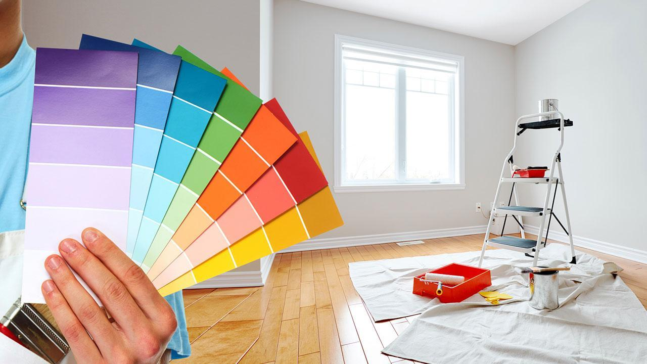 A fresh coat of paint brings momentum to your 4 walls - colour chart