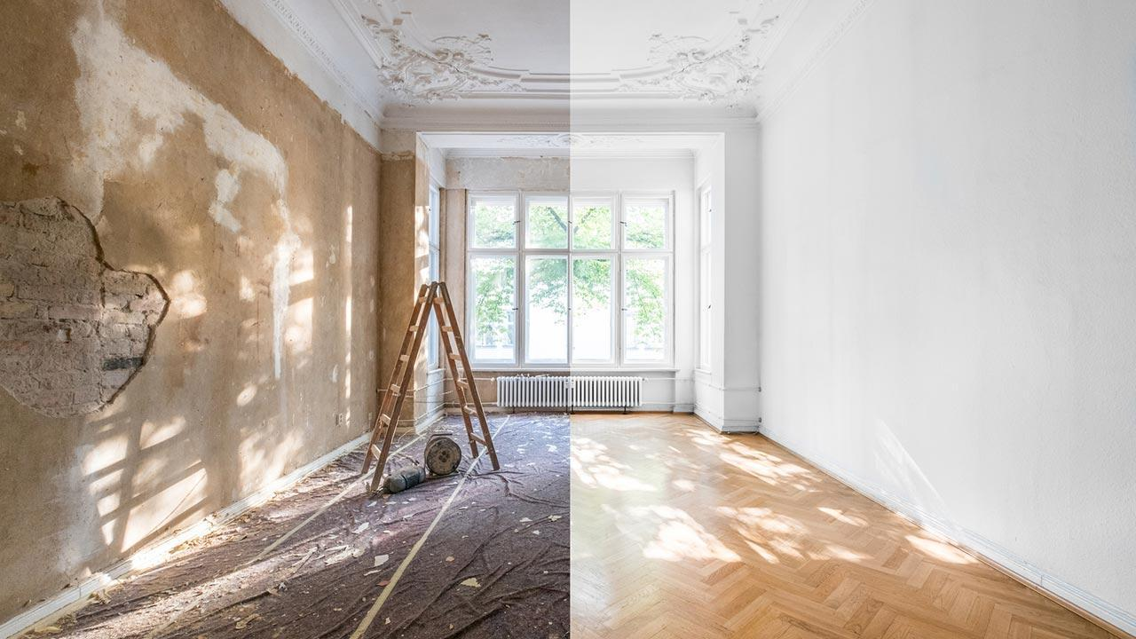 A fresh coat of paint brings momentum to your 4 walls - Renovation